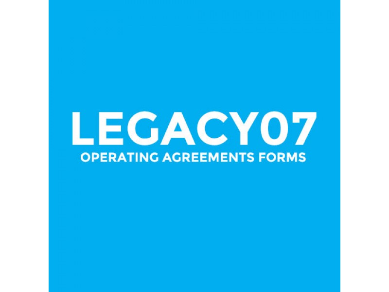 Legacy07 Operating Agreement Forms