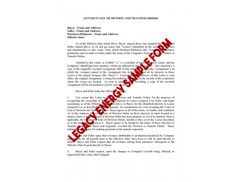 LEGACY09 - Acquisition Forms